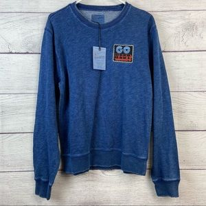 Luck Brand Go West long sleeve shirt size large